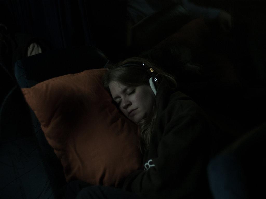 Sanne sleeping